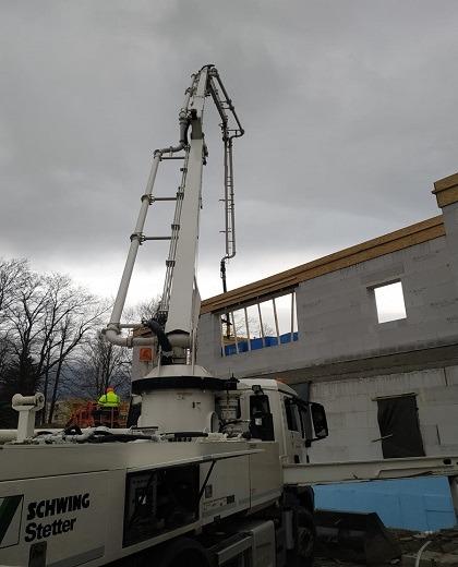 ANDR beton - betonová pumpa